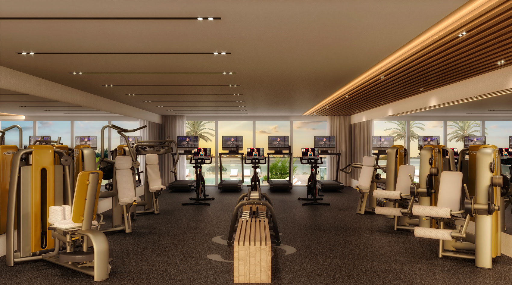 Gym Serena by the Sea