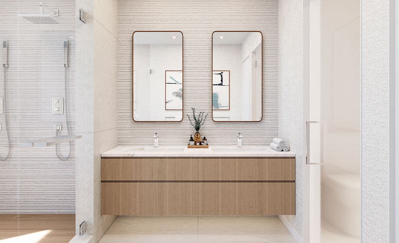 Luxurius bathroom Serena by the Sea